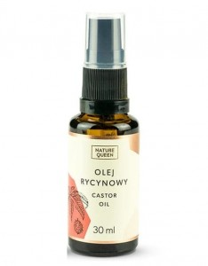 Olej rycynowy 30 ml Nature Queen