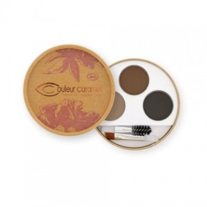 Paletka cieni do brwi 29 Brunet Couleur Caramel