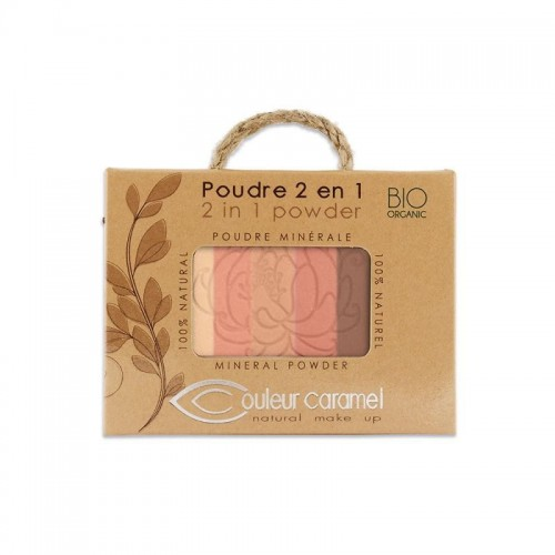 Puder Mineralny 2 w 1 Couleur Caramel