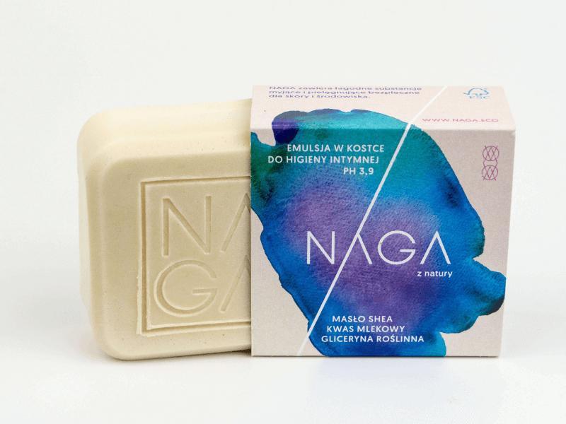 Emulsja w kostce do higieny intymnej NAGA