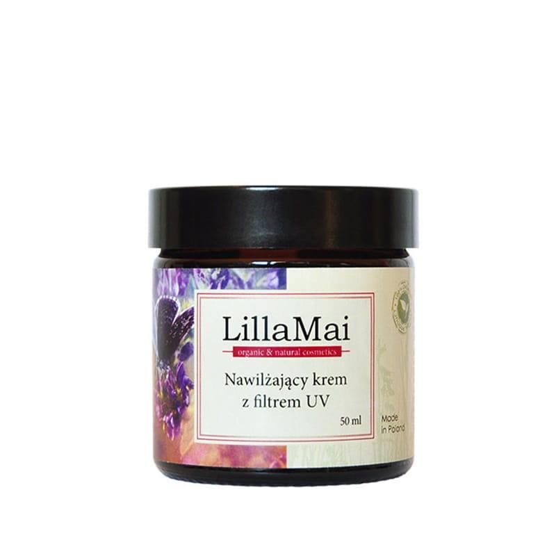 Nawilżający krem z filtrem UV LillaMai