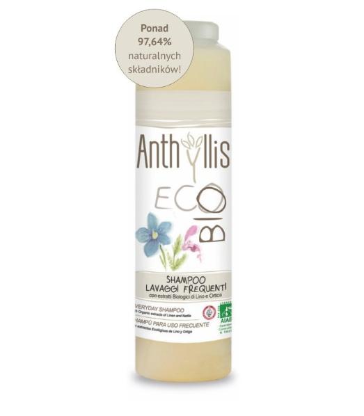 Szampon do częstego mycia włosów Anthyllis