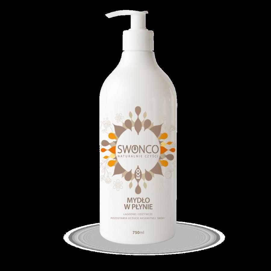 Mydło w płynie brzoskwiniowe Swonco