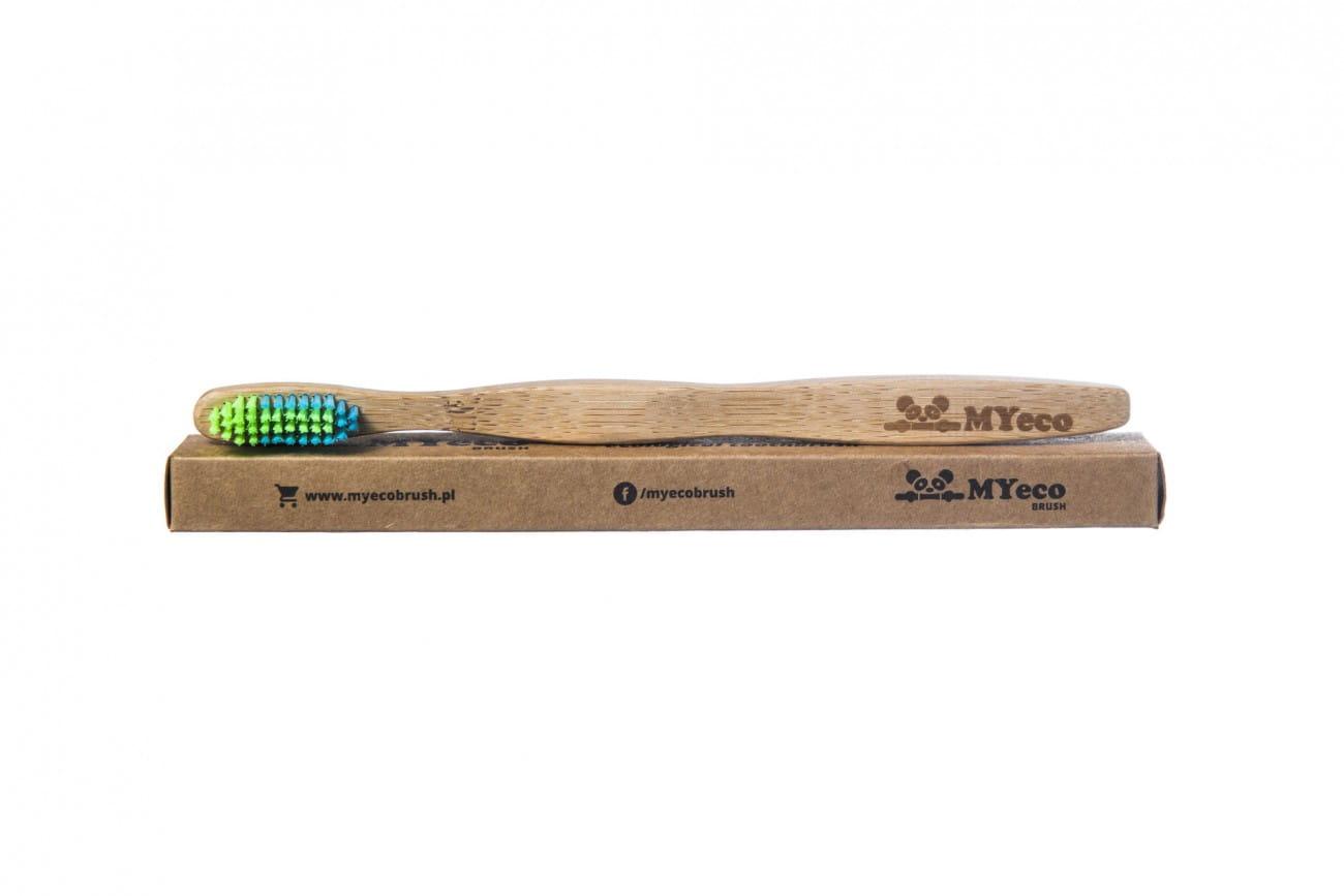 Szczoteczka bambusowa do mycia zębów