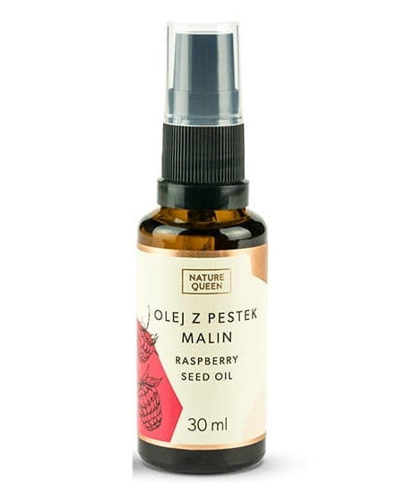 Olej z pestek malin 30 ml Nature Queen