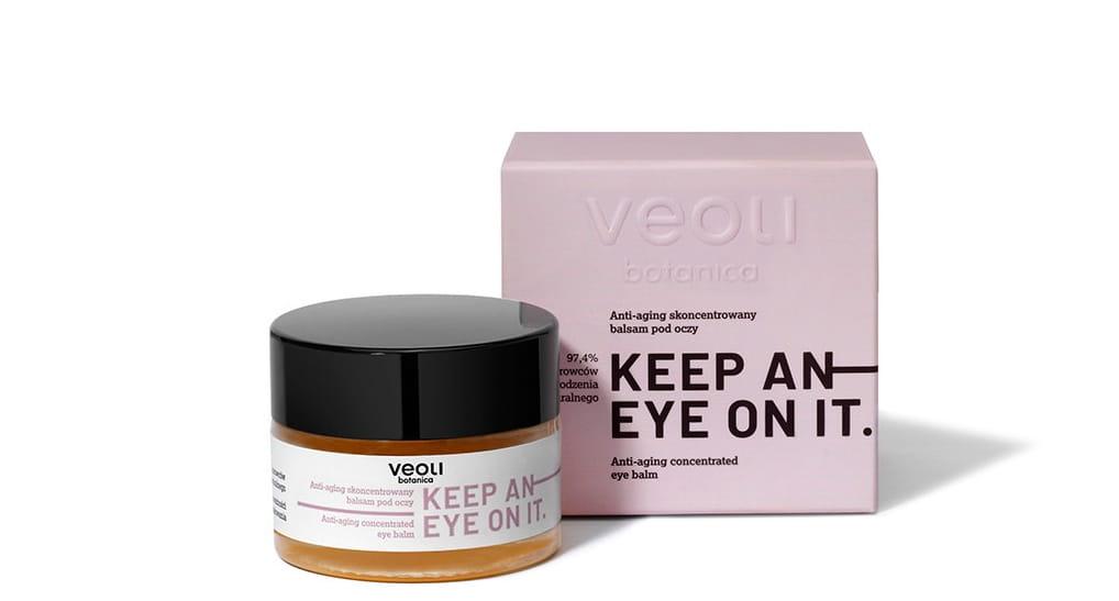 Anti-aging balsam pod oczy Veoli
