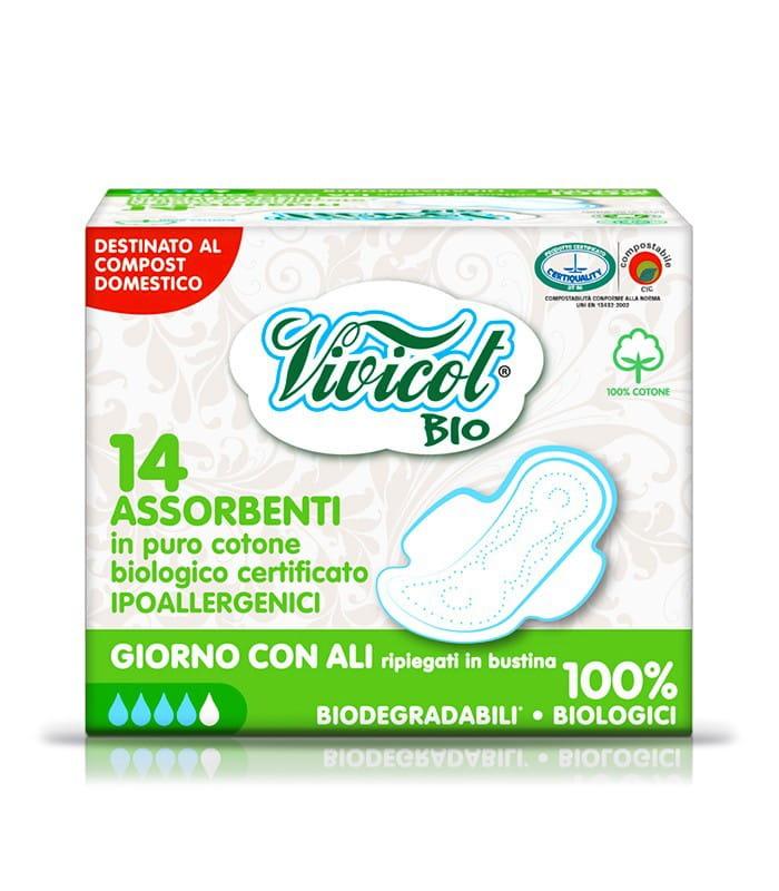 Podpaski z organicznej bawełny Vivicot Bio
